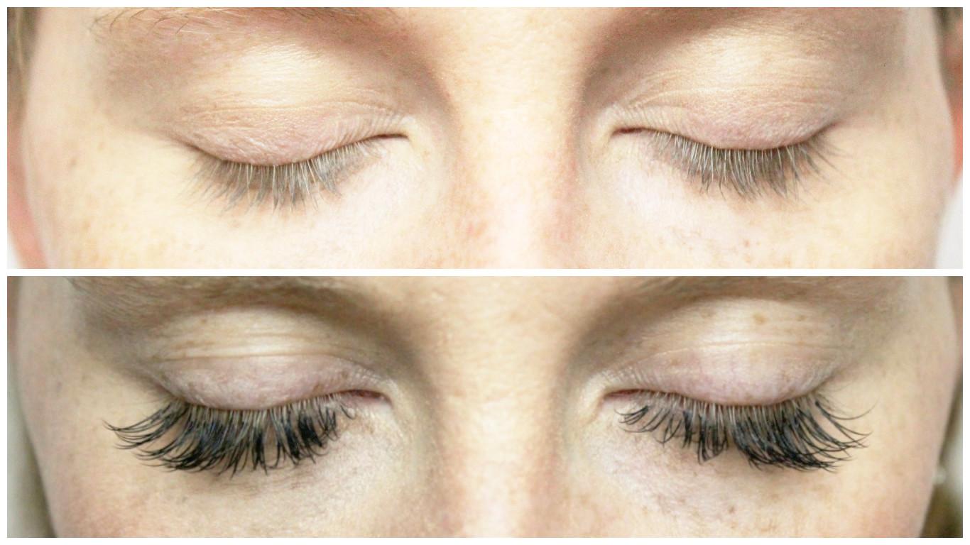 Vorher-Nachher-Wimpernverlängerung-Wimperverdichtung-Wimpernwerk-Beauty-Blog-Muenchen