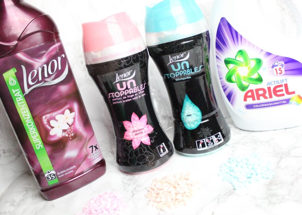 Ariel-Flüssig-Pulver-Waschmittel-Lenor-Weichspüler-Unstoppable-Parfümperlen-wäscheparfüm-5